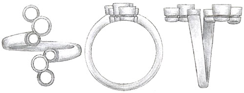 The Diamond Right Hand Ring
